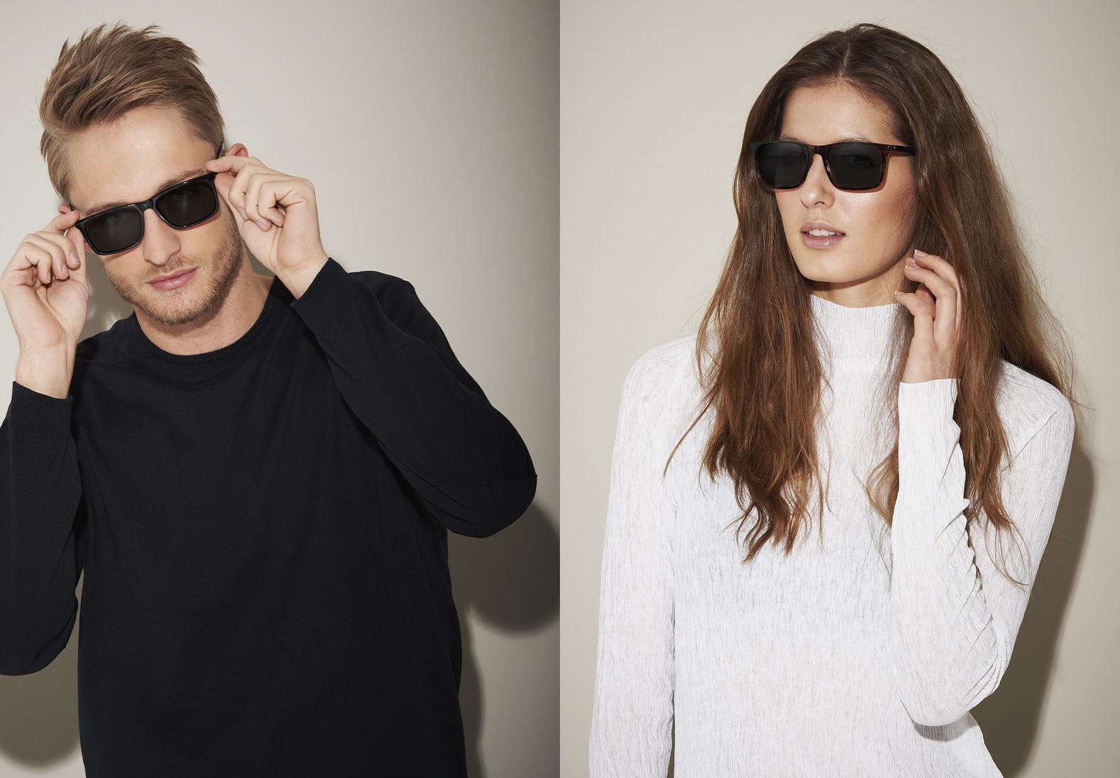 sonnenbrille mit sehst rke type a schwarz brillen. Black Bedroom Furniture Sets. Home Design Ideas