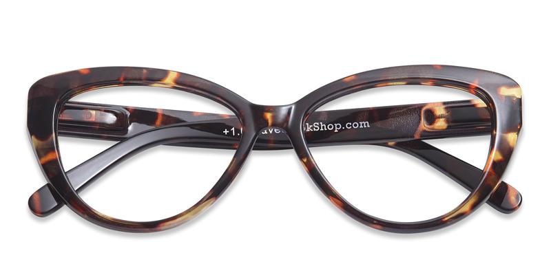 3592b73b26fd Læsebriller Cat Eye brun skildpadde