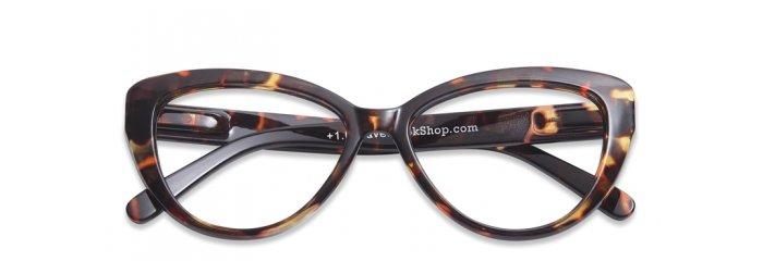 1edc5883657d Briller uden styrke Cat Eye tortoise ...