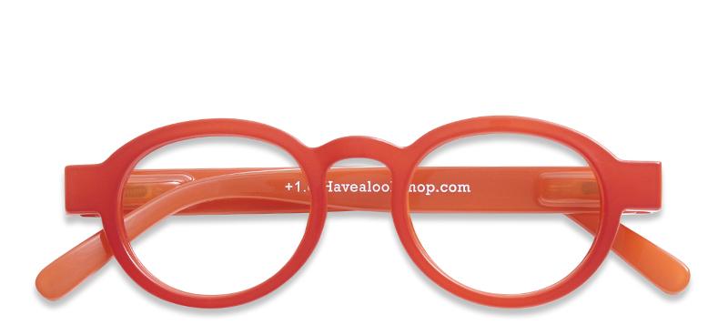 61cbc615dc0 ... Reading glasses Circle Twist red