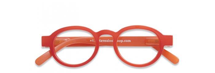a08a34ffccaf Briller uden styrke Circle Twist red ...