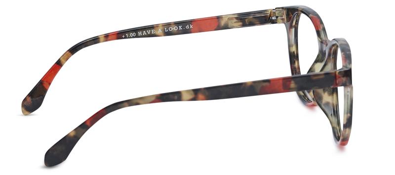 f122d24fe07e Briller uden styrke City turtle red