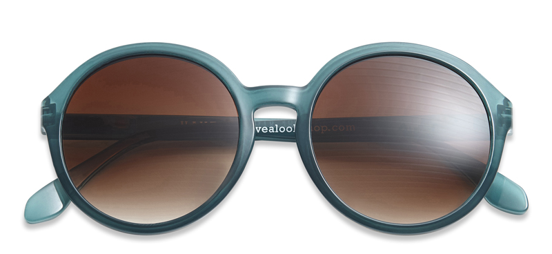 a20054d24a1d Solbriller med læsefelt Diva blå petroleum