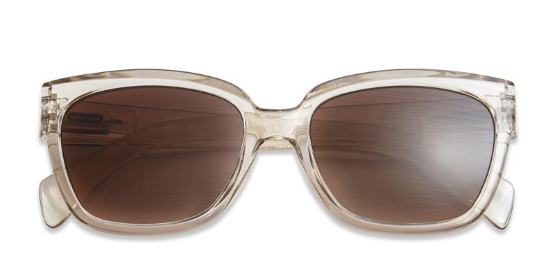 Solbriller m. læsefelt Mood champagne