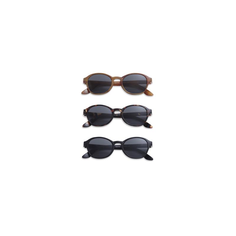 sonnenbrille mit sehst rke circle schwarz brillen. Black Bedroom Furniture Sets. Home Design Ideas