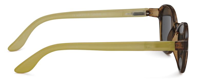 Solbriller m. styrke Circle tortoiselime