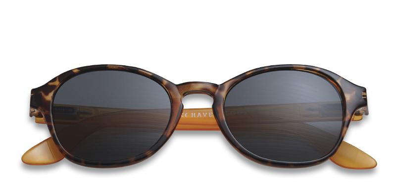 sonnenbrille mit sehst rke circle horn und orange brillen. Black Bedroom Furniture Sets. Home Design Ideas