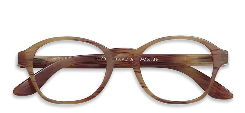 Læsebriller Circle amber