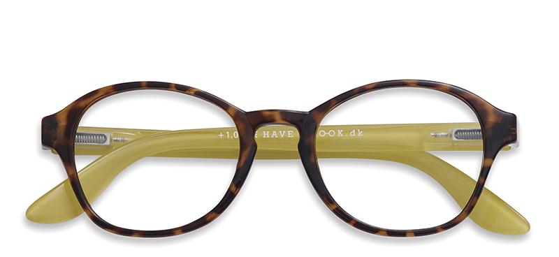Briller uden styrke Circle tortoiselime