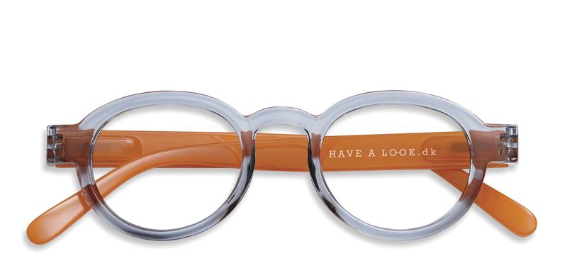 4be1eb4b7498 Læsebriller Circle Twist grey orange – Have A Look