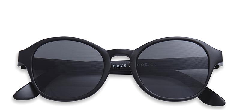 75c557335a8f Solbriller med styrke Circle sort – Have A Look