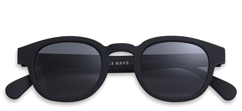 sonnenbrille mit sehst rke typ c schwarz brillen. Black Bedroom Furniture Sets. Home Design Ideas
