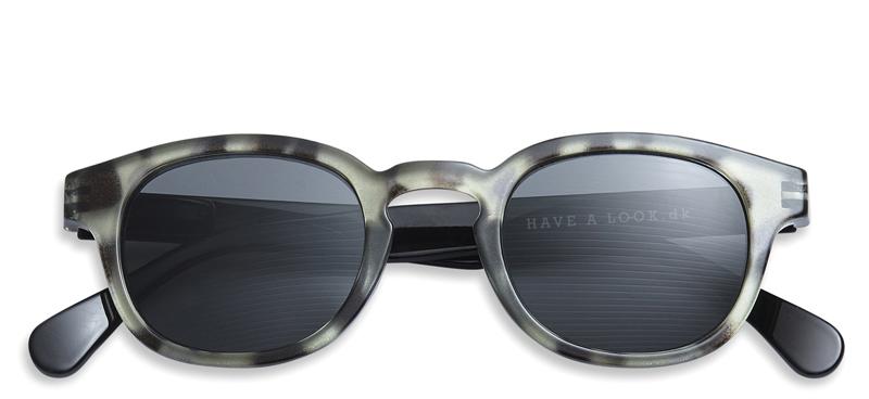 sonnenbrille mit sehst rke typ c gr n und schwarz brillen. Black Bedroom Furniture Sets. Home Design Ideas
