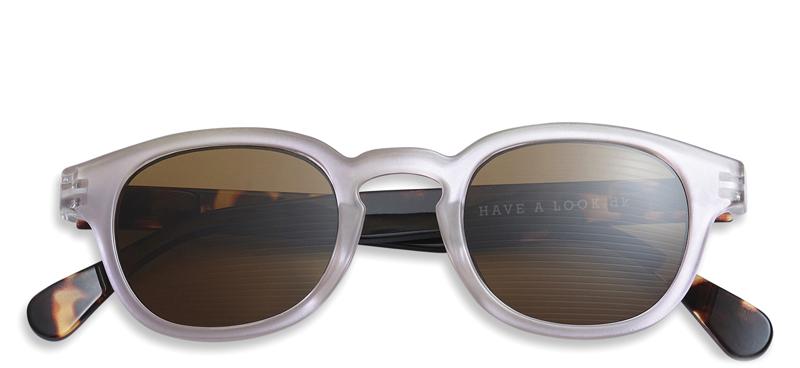 Solbriller m. læsefelt Type C rosetortoise